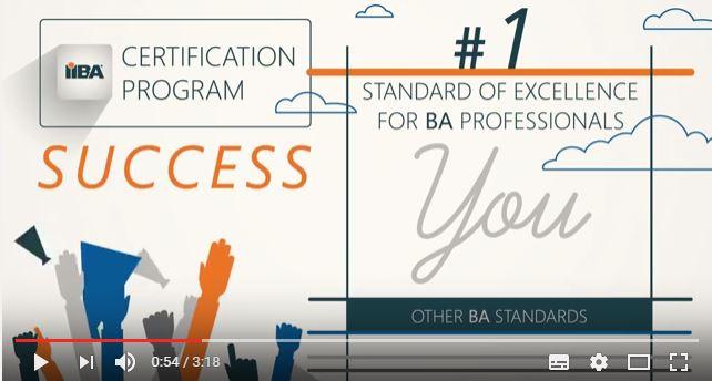 New IIBA® Certification Program