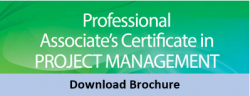 Download Associate's Certificate Project Management ADVANCED