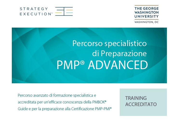 Percorso specialistico di Preparazione PMP® Advanced