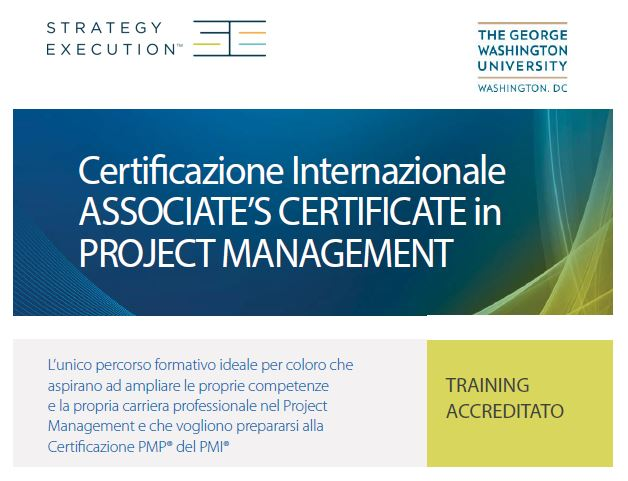 Percorso formativo in Project Management