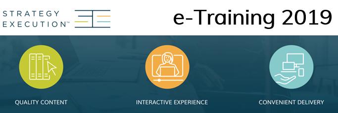 e-Training: scopri il Catalogo 2019