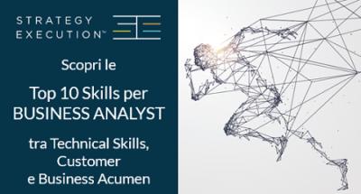 Top 10 skills per il Business Analyst nel VUCA