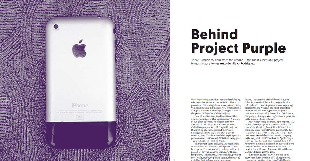 What Can You Learn About Project Success From Your iPhone?