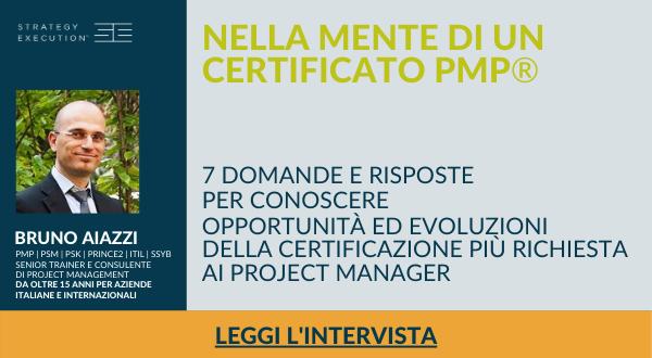 Intervista | Nella mente di un certificato PMP®